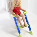 Kindertoilettensitz, Wc Trainer mit Stufe und festhaltegriffe für die Kleinen