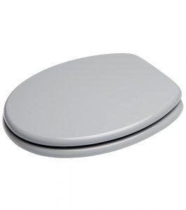 Toilettendeckel grau