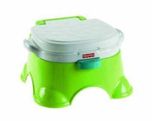 Grüne Frosch Kindertoilette Mattel BGP36 von Fisher Price