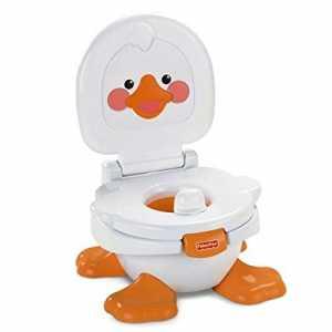 Kindertoilette mit Musik die kleine Ente von Fisher Price