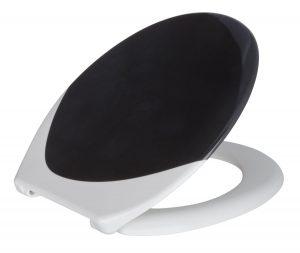 Toilettendeckel schwarz weiß-min