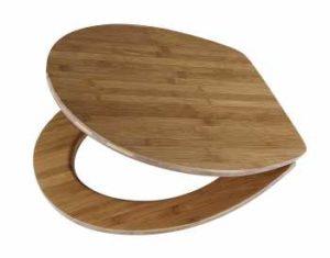 DIAQUA WC-Sitz Lyon Slow-Motion, Dark Bamboo
