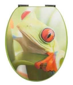 WC-Sitz 3D Frosch mit Absenkautomatik