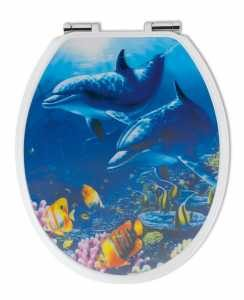 WC-Sitz Delfin 3D