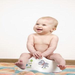 Kindertöpfchen und Kindertoilettensitz